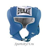 Шлем боксерский Everlast USA Boxing Cheek синий